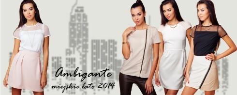 Zobacz najnowszą letnią kolekcję Ambigante - Bluzki, sukienki i spódniczki!