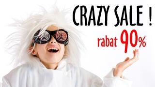 CRAZY SALE! - Trzecia pozycja z działu OUTLET z 90% RABATEM! Zobacz koniecznie!!!