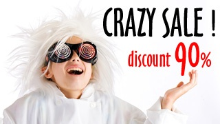 MODELS in OUTLET FOR 10%! CRAZY SALE - EXCLUSIVE SPECIAL - Only in ZebrasBOX!