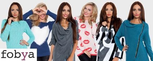 Zobacz kolekcje swetrów FOBYA! Super wzory, fajna cena!