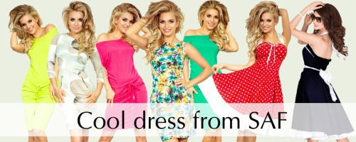 The collection of dresses for all occasions 