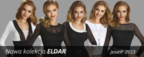 Zobacz nową kolekcję elaganckich bluzek  ELDAR na jesień i zimę i wybierz coś dla  siebie!
