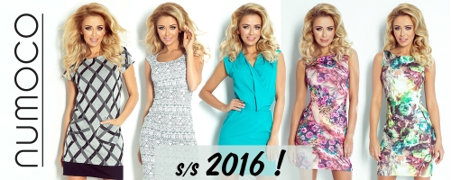 Wybierz swoją sukienkę na lato! Kolekcja  2016!