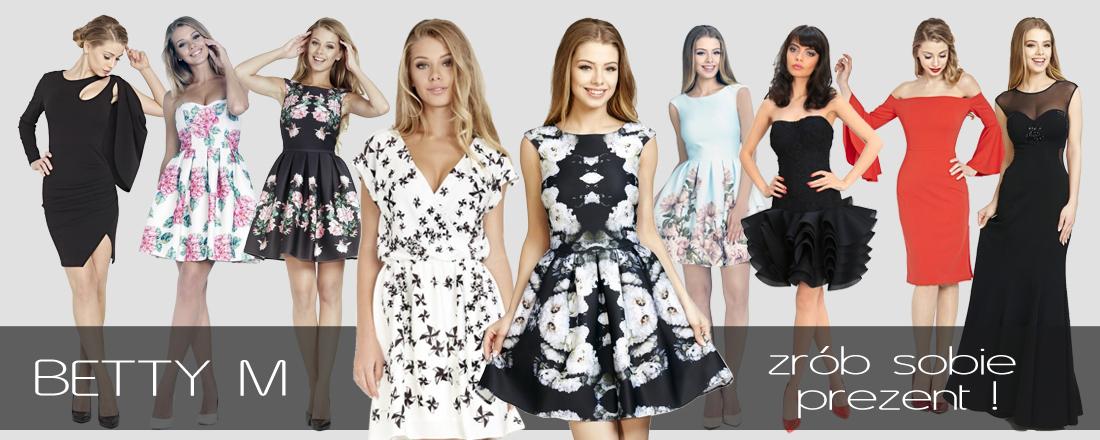 Zobacz rewelacyjne modele sukienek BETTY M!